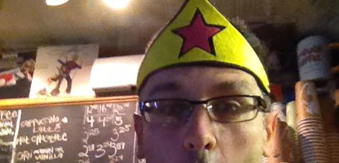 Marc in Funny Hat